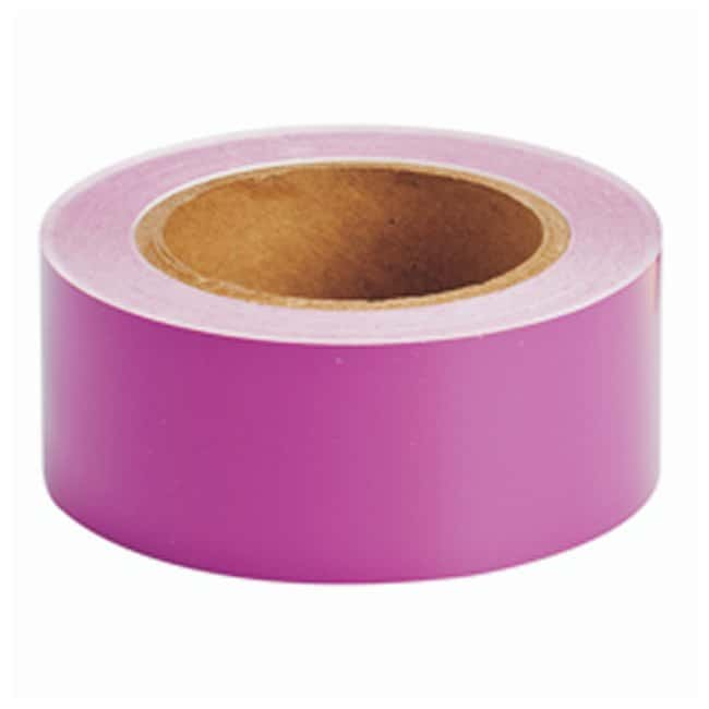 Brady Solid Color Banding Tape Purple; Size: 2 in. x 30 yd.:Gloves, Glasses