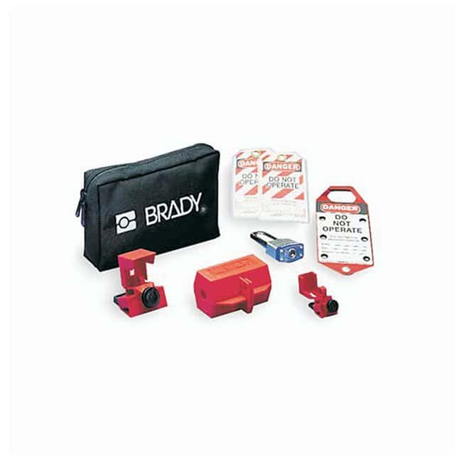 Brady Electrical Lockout Pouch Electrical Lockout Pouch:Gloves, Glasses