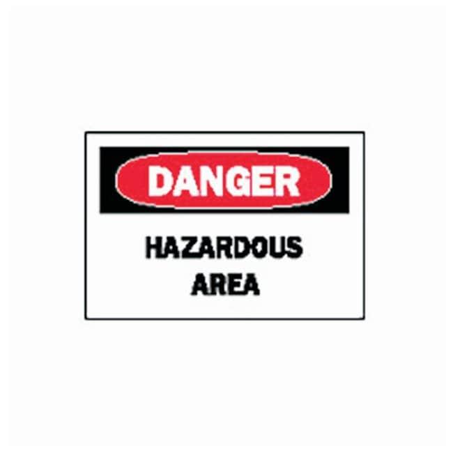 Brady™Danger Hazardous Area Signs