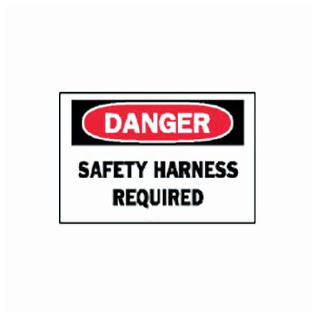 Brady Confined Space Safety Signs Tuff Aluminum material; Legend: SAFETY