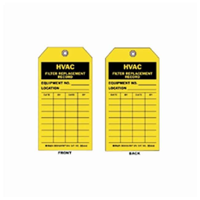 Brady™HVAC Inspection Tags