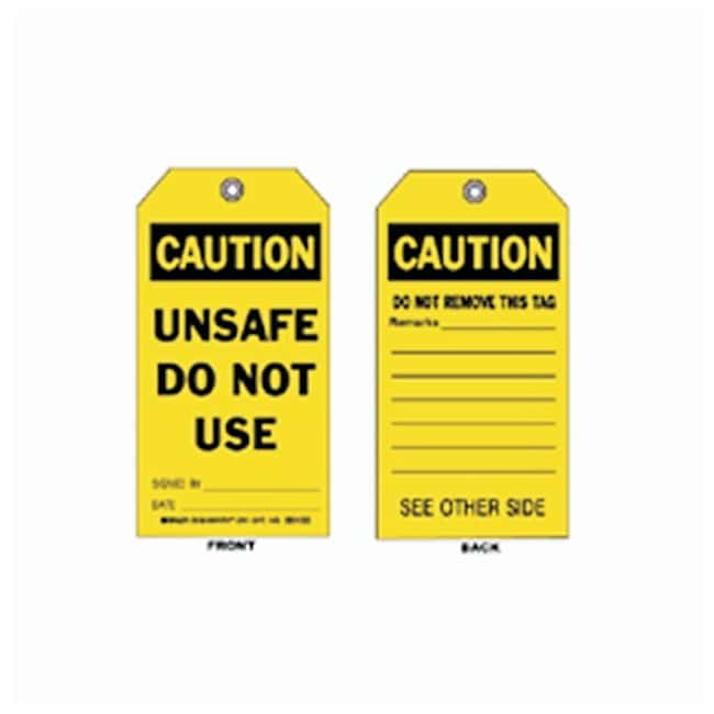 Brady™Accident Prevention Tags - Caution