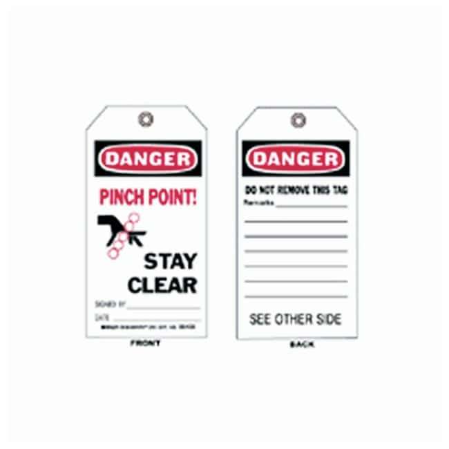 Brady™ Accident Prevention Tags - Danger