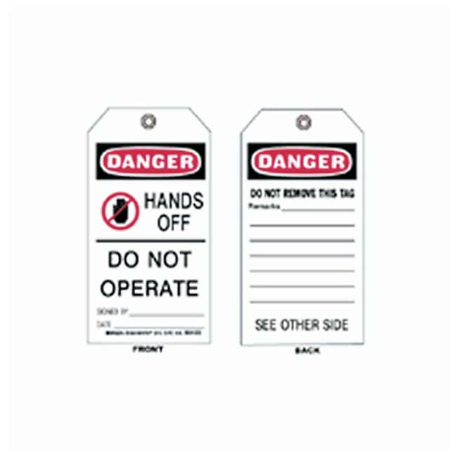Brady™Accident Prevention Tags - Danger