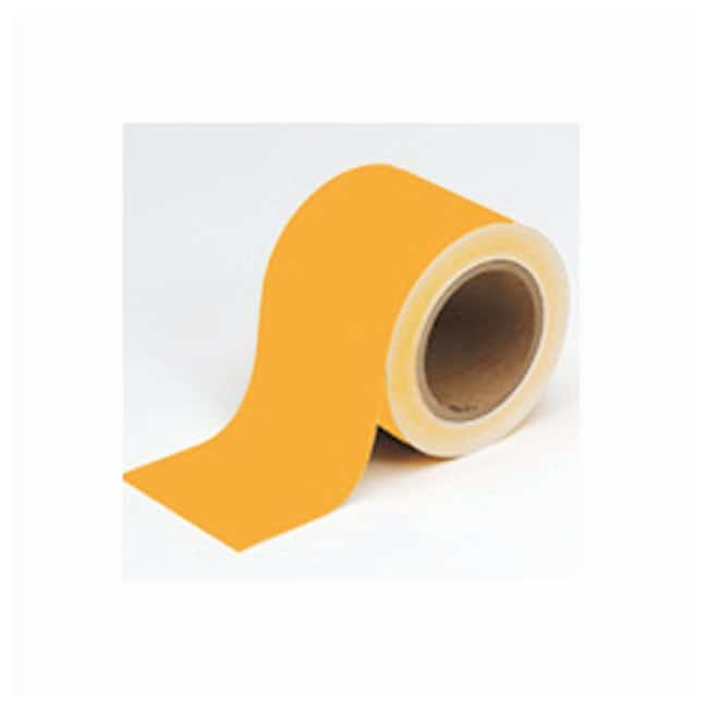 Brady Solid Color Banding Tape Orange; Size: 2 in. x 30 yd.:Gloves, Glasses