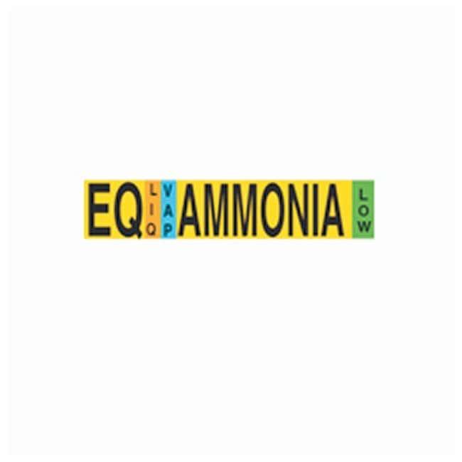 Brady Stock Ammonia IIAR Pipe Markers IIAR Abbrev: EQ; Physical State: