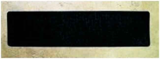 Accuform Signs Skid Gard Floor Shape Tape 6 x 24 in. rectangular cleat;