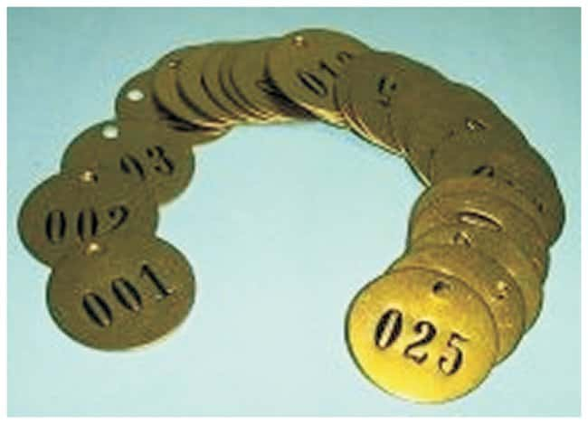 Accuform SignsNumbered Brass Tags