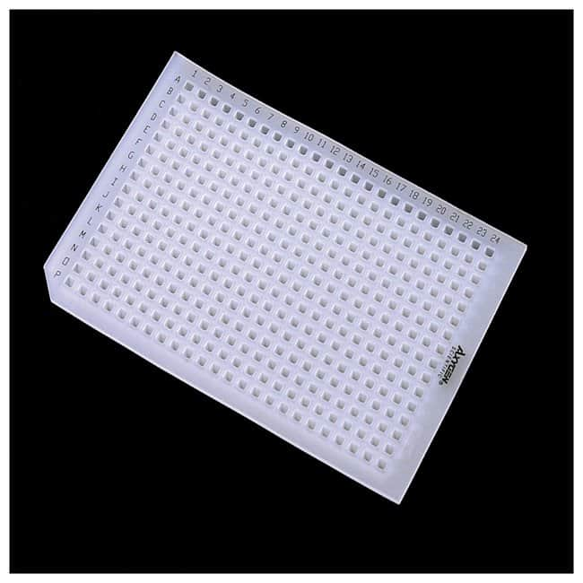 Axygen™Alfombrillas de sellado Axygen™ AxyMats™ para placas de pocillos profundos de 384 pocillos Alfombrilla de sellado; para microplaca de 384 pocillos profundos con pocillos cuadrados Ver productos