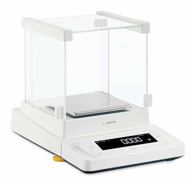 Sartorius Cubis MSU Precision Balances Weighing Range: 5200g; Manual glass
