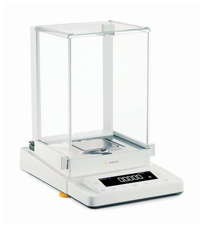 Sartorius Cubis MSE Semi-Micro Balances: Draft Shield with Manual Doors