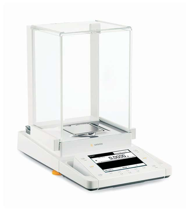 Sartorius Cubis MSU Analytical Balances: Draft Shield with Automatic Doors