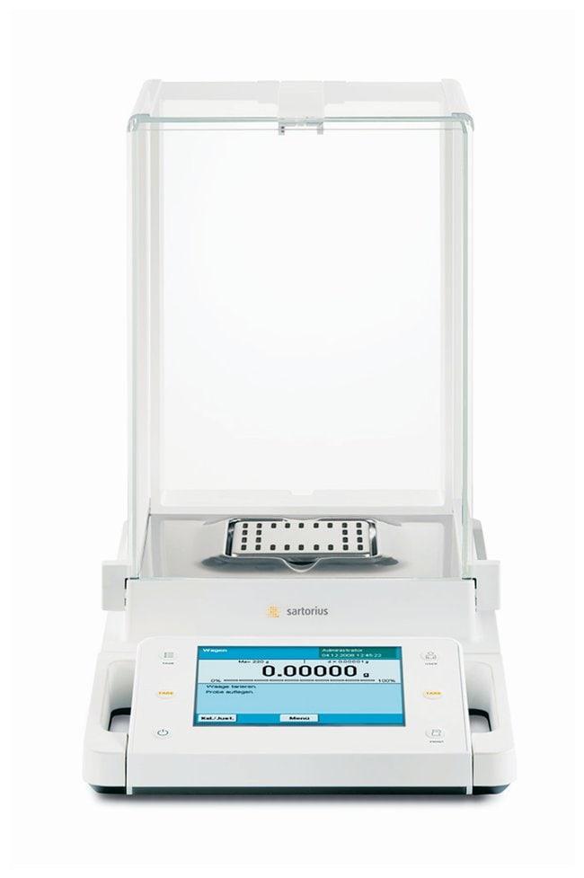 Sartorius Cubis MSA Semi-Micro Balances Range: 60/120/220g; Draft shield