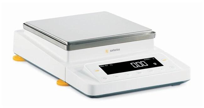 Sartorius™Balanzas de carga superior Cubis™ MSE con nivelación asistida por guía Weighing Range: 12.2kg; Readability: 100mg Sartorius™Balanzas de carga superior Cubis™ MSE con nivelación asistida por guía