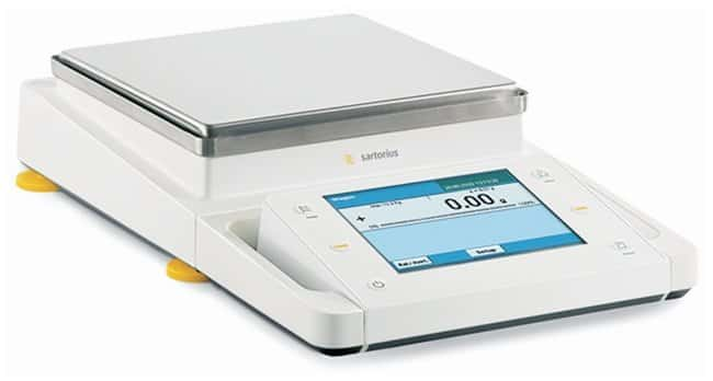 Sartorius™Cubis™ MSA Toploader Balances: No Draft Shield (DO)/Guide-Assisted Leveling