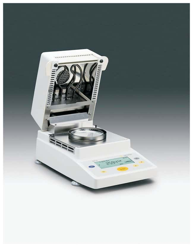 Sartorius MA35 Moisture Analyzers Equipped with glass panels:Testing and
