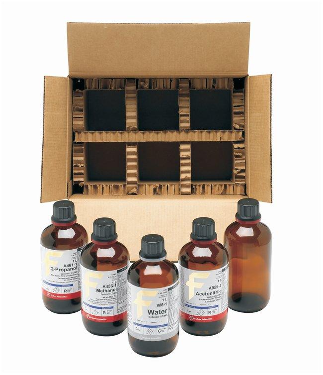 Optima LC/MS Solvents Starter Kit, Includes 1L Acetonitrile, 1L Methanol,
