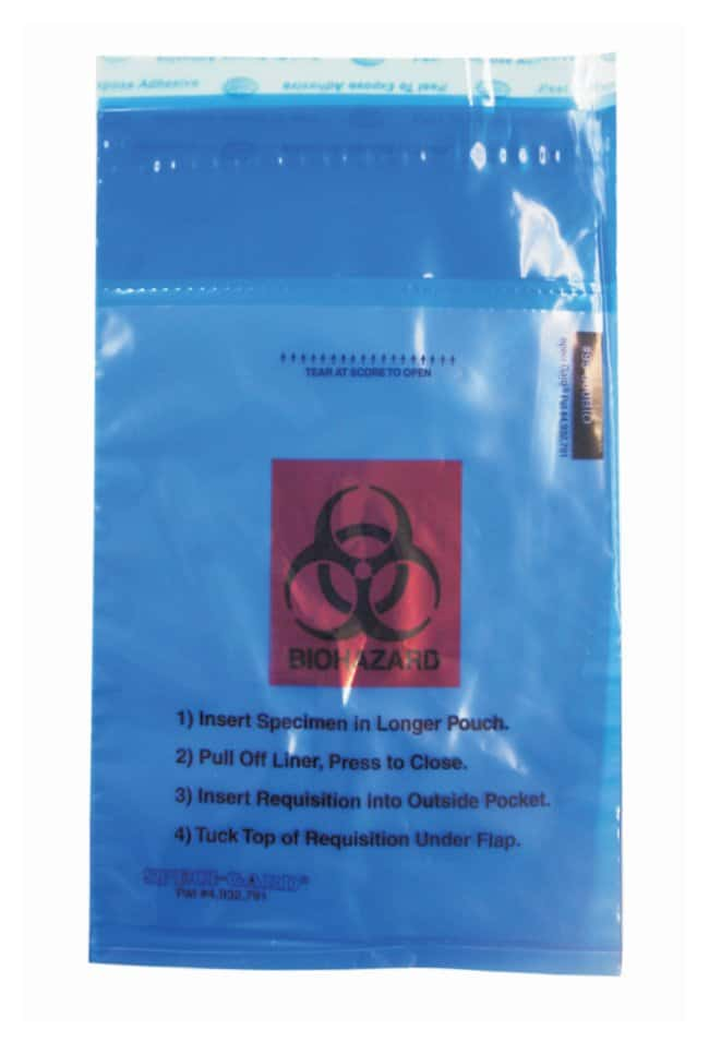Minigrip™ Enhanced SPECI-GARD™ Biohazard Bags