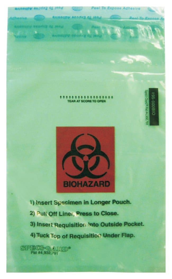 Minigrip™Enhanced SPECI-GARD™ Biohazard Bags