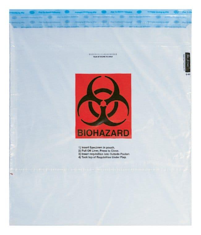 35f9e2b7e66 Minigrip SPECI-GARD Specimen Biohazard Transport Bags Gloves ...