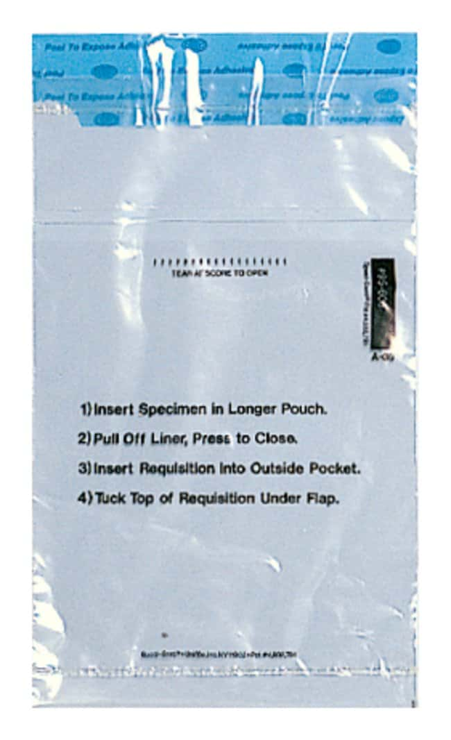 Minigrip Non-Biohazard Adhesive Closure Bags 6 W x 10 in. H:Testing and