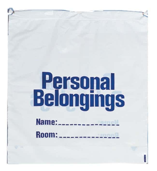 Minigrip Patient Belonging Bags White film; W x H: 18 x 21 in.:First Responder