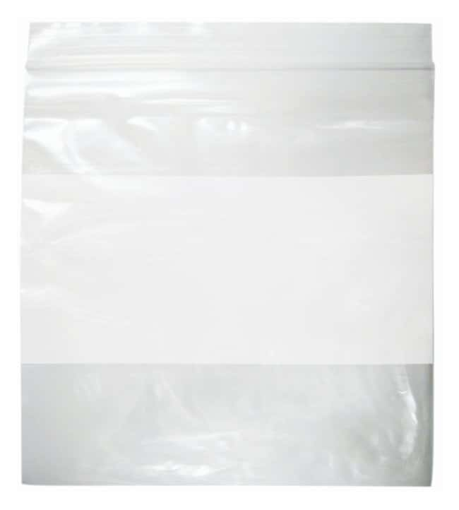Minigrip Reclosable White Specimen Bags 4 W x 6 in. H:Testing and Filtration