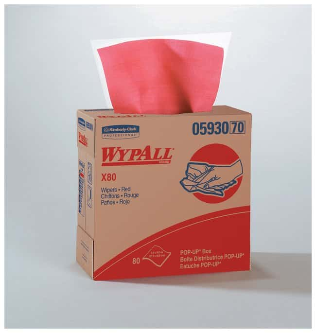 Kimberly-Clark Professional WypAll X80 Towels :Gloves, Glasses and Safety:Facility
