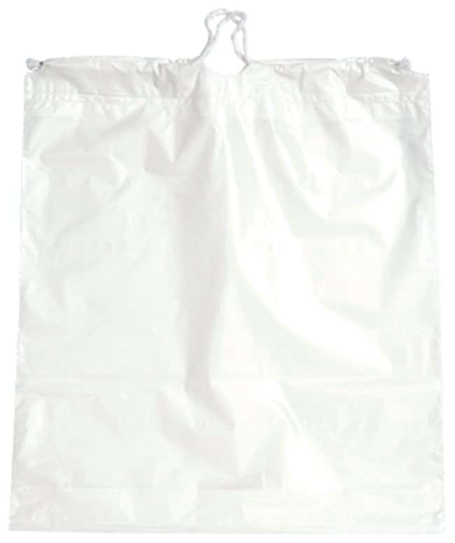 Minigrip Plain White Drawstring Bags 18 x 16 in.:First Responder Products
