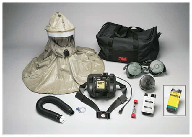 3M™ Breathe Easy™ Powered Air-Purifying Respirator System with Butyl Rubber Hood