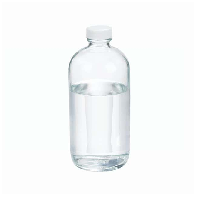 DWK Life SciencesWheaton™ Clear Boston Rounds with TFE-lined Caps Capacity: 16 oz. (500mL) DWK Life SciencesWheaton™ Clear Boston Rounds with TFE-lined Caps
