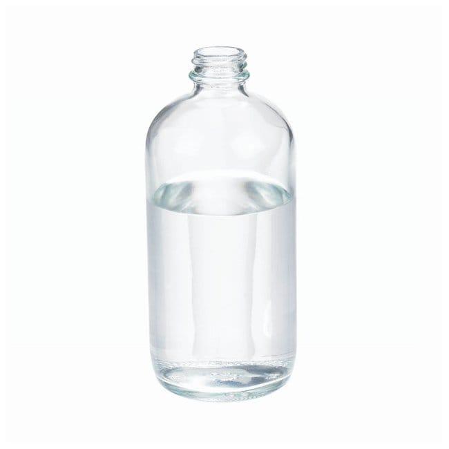 DWK Life SciencesKlare Boston Round Flaschen ohne Verschlusskappen Boston Rounds, Kapazität: 16oz. DWK Life SciencesKlare Boston Round Flaschen ohne Verschlusskappen