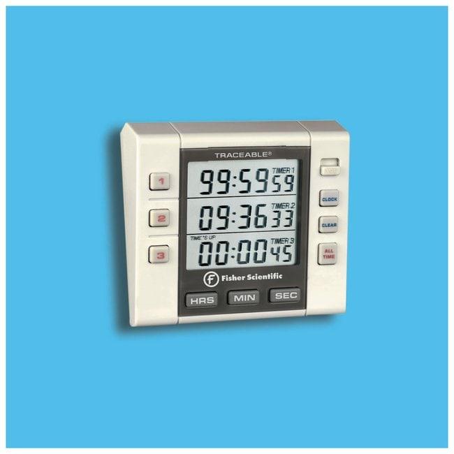 Fisherbrand™ Three-Channel Alarm Timer Fisher Scientific