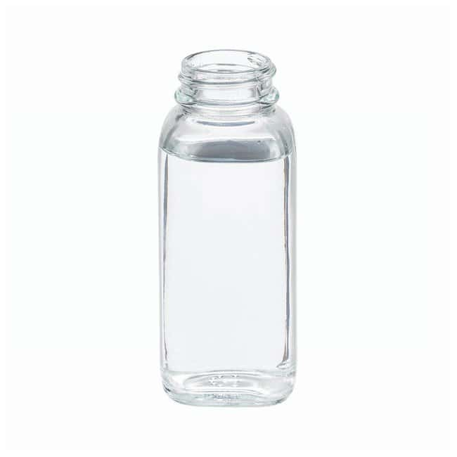 DWK Life SciencesWheaton™ Clear French Squares without Caps 4 oz. (125mL), 33mm-400 screw cap size DWK Life SciencesWheaton™ Clear French Squares without Caps