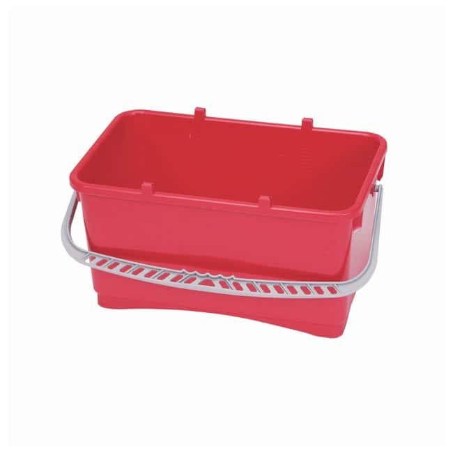 Contec Universal Replacement Buckets Color: Red:Gloves, Glasses and Safety
