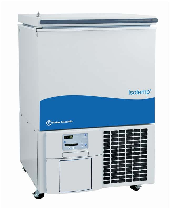 Fisherbrand™ Isotemp™ -86°C Ultra-Low Temperature Chest Freezers, 3 cu. ft. Capacity: 3 cu. ft. (84.9L); 230V/50Hz 5.4A Fisherbrand™ Isotemp™ -86°C Ultra-Low Temperature Chest Freezers, 3 cu. ft.