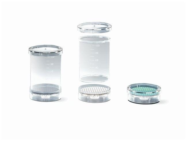 SartoriusBiosart™ 100 Monitors Pore size; 0.2μm; 47mm; Packaged in trays; White/Black SartoriusBiosart™ 100 Monitors