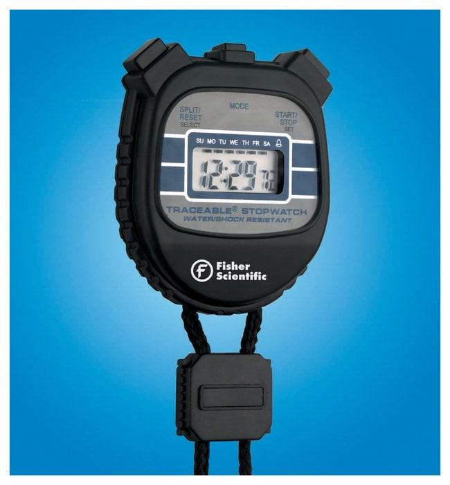 fisherbrand traceable waterproof shockproof stopwatches water shock rh fishersci com Fisher Scientific Stopwatch Manual Fisher Scientific Traceable Stopwatch