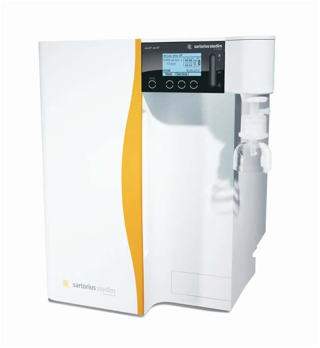 Sartorius arium pro VF Ultrapure Water System VF bench-top system:Testing