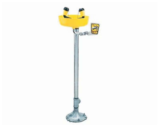 Encon™ Yello-Bowl™ Pedestal-Mount Fountain Eyewashes