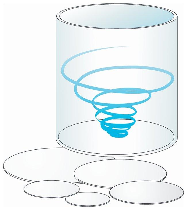 Sartorius Ultrafiltration Membrane Discs Hydrosart; Dia.: 25mm; 5,000 MWCO;