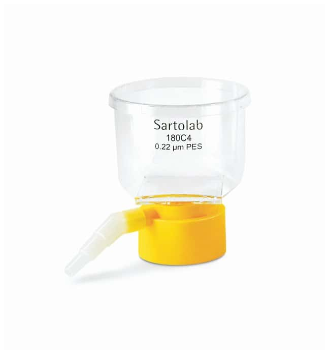 Sartorius&trade;&nbsp;Sartolab&trade; RF/BT Vacuum Filtration Units BT 150; 150mL; Filter area: 18cm<sup>2</sup>; 48/cs. Sartorius&trade;&nbsp;Sartolab&trade; RF/BT Vacuum Filtration Units