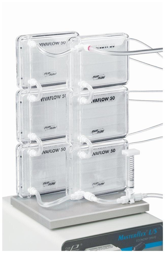 SartoriusCassettes pour écoulement transversal Vivaflow™ 50 Vivaflow50; avec membrane en PES; 5000 MWCO; 2/boîte SartoriusCassettes pour écoulement transversal Vivaflow™ 50