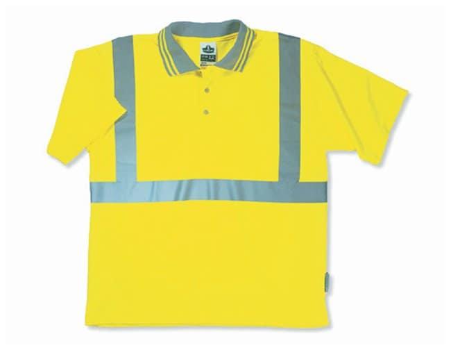 Ergodyne GloWear 8295 Type R Class 2 Polo Shirt:Gloves, Glasses and Safety:Lab
