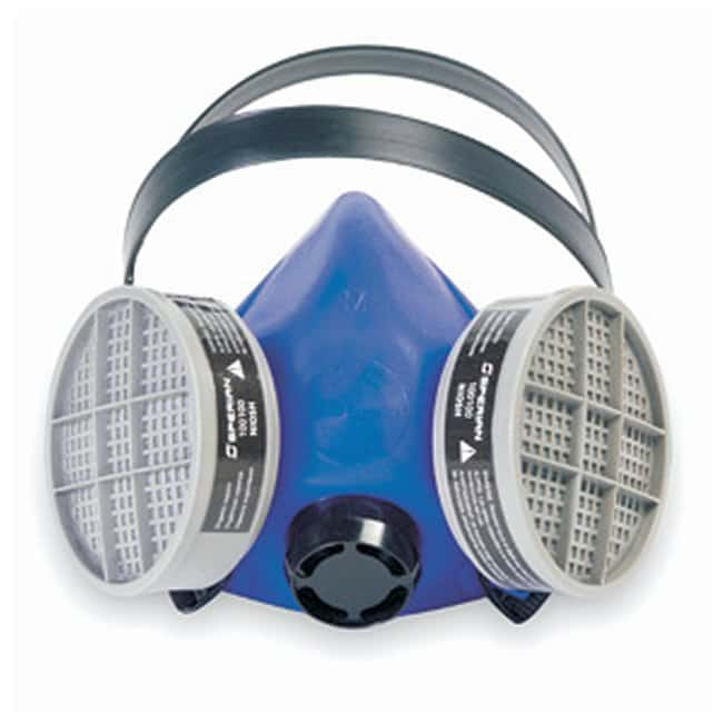 Honeywell North Blue 1 Half Mask Respirators Basic assembly w/speaking