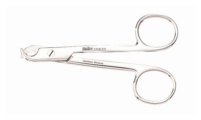 Integra MiltexWhite Toenail Scissors White; 4.375 in. (11.2cm):Facility