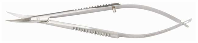 Integra MiltexCastroviejo Corneal Scissors Curved; Sharp points; 3.75 in.