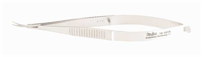 Integra MiltexMicro Iris Scissors Straight; Sharp points; 4 in. (10cm):Facility
