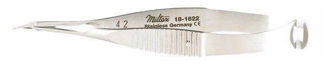 Integra MiltexVannas Capsulotomy Scissors Curved; Extra delicate sharp