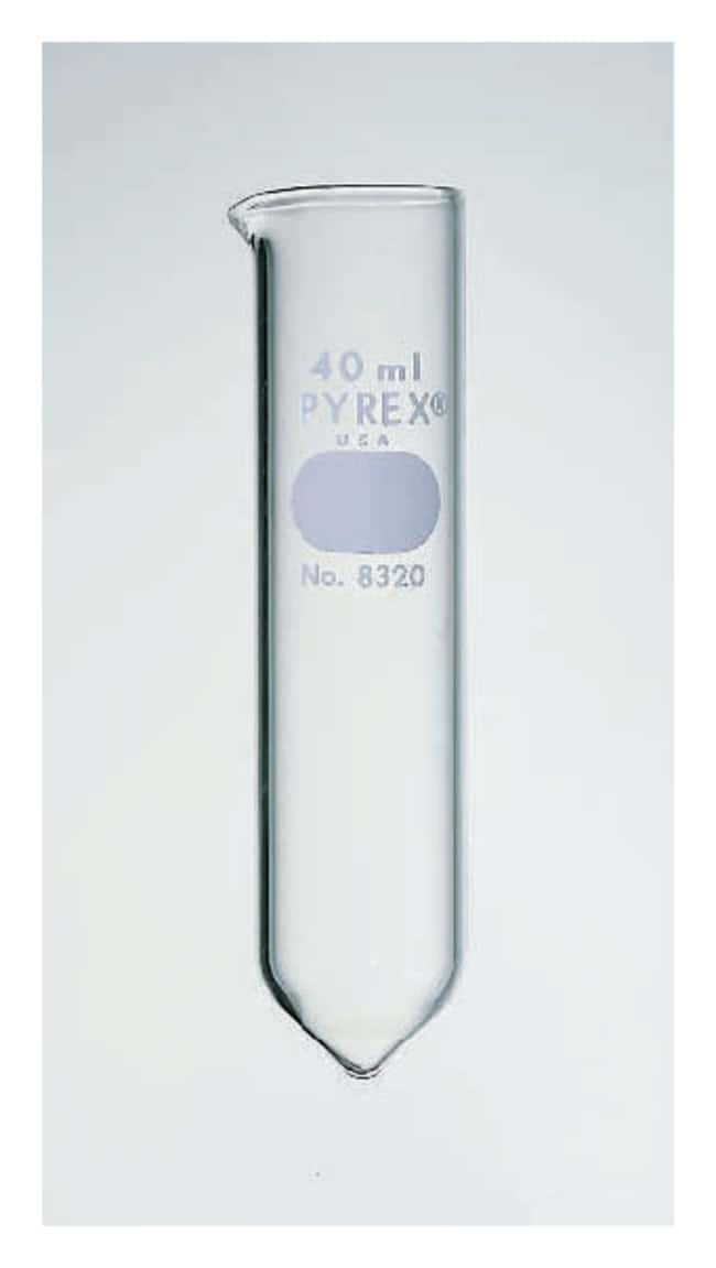 Corning Conical-Bottom Glass Centrifuge Tubes: 40mL Capacity 40mL; O.D.